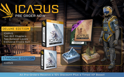 Pre-Order Deluxe and Standard Editions now